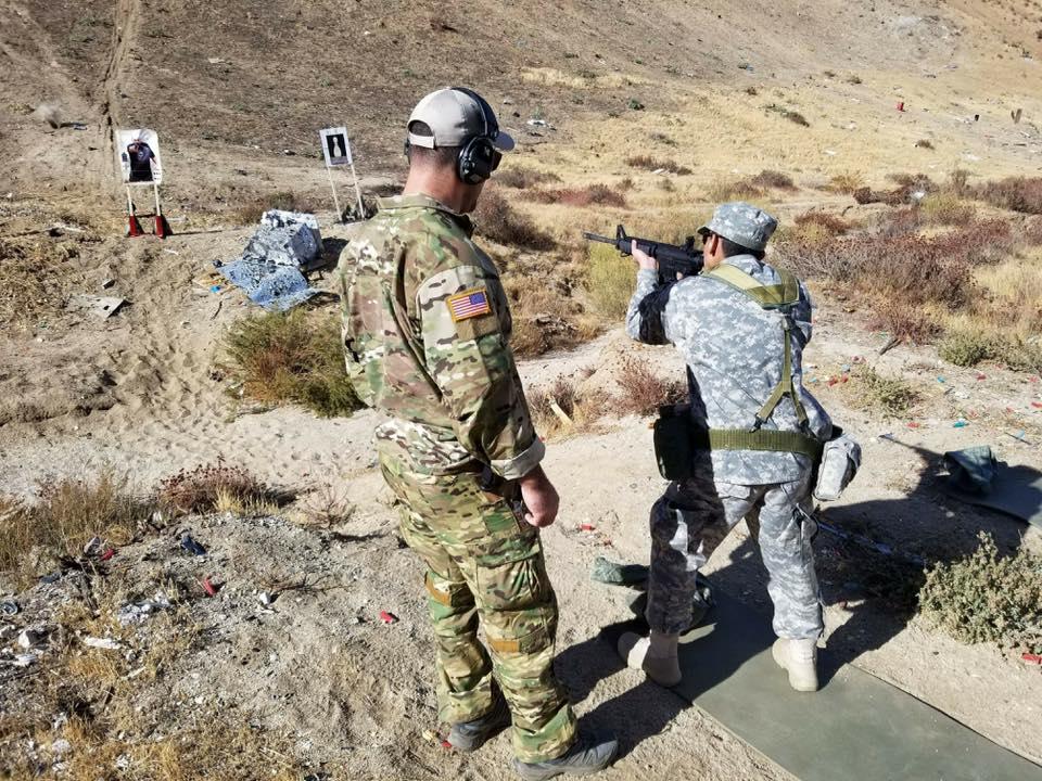 Military Explorers Marksmanship Training